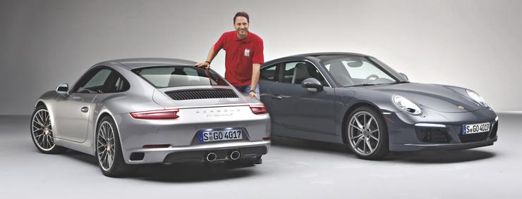 Porsche 911 Facelift Sperrfrist 07.09.2015 00.01 Uhr