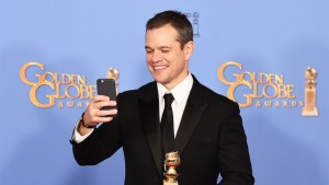 Mandatory Credit: Photo by Buckner/Variety/REX/Shutterstock (5528315bb) Matt Damon 73rd Annual Golden Globe Awards, Press Room, Los Angeles, America - 10 Jan 2016