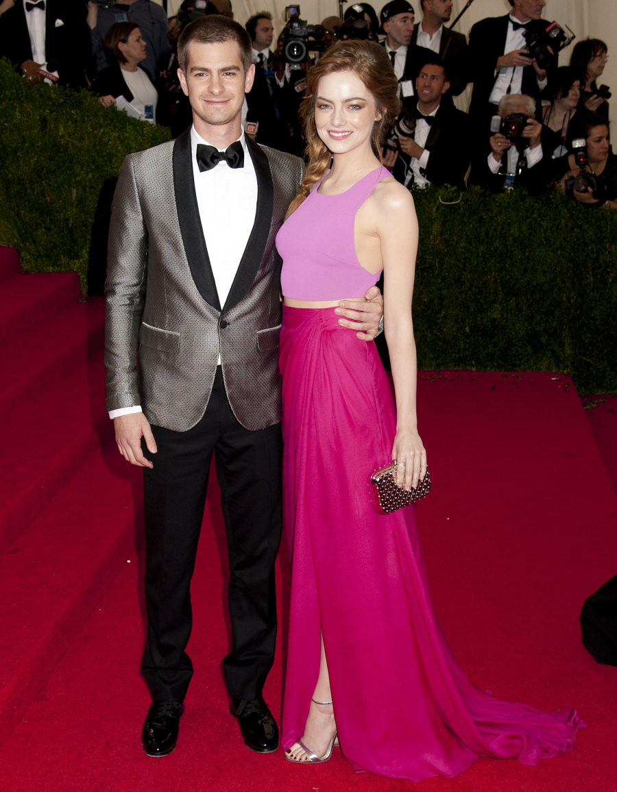 'Charles James: Beyond Fashion' Costume Institute Gala at the Metropolitan Museum of Art - Arrivals Featuring: Andrew Garfield,Emma Stone Where: New York, New York, United States When: 05 May 2014 Credit: WENN.com **Not available for publication in USA**